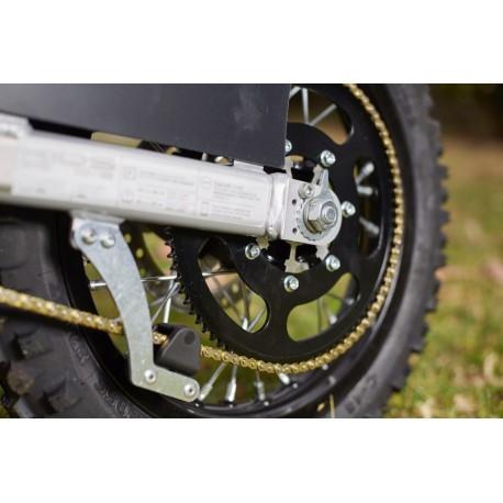 Torrot E12 hinteres Kettenrad schwarz Aluminium Z85 Kette 219