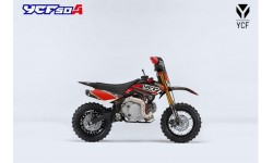 YCF 50A LIMITED BLACK-RED Kindermotorrad
