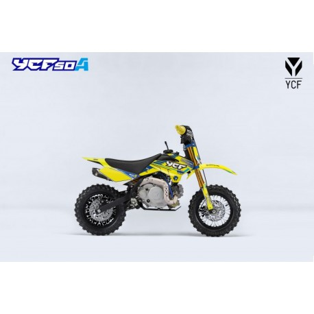 YCF 50A LIMITED YELLOW Kindermotorrad