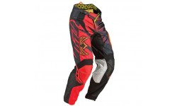 Fly Racing CROSS Hose Kinetic Inversion rot-schwarz