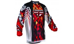 Fly Racing Jersey Kinetic rot-schwarz