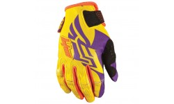 Fly Racing Handschuhe Kinetic lila / gelb